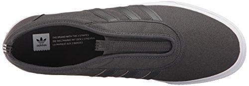Adidas Original Mens Adi-lätthet Kung-fu Mode Gymnastiksko Mörk Fast Substans Grå / Mörk Fast Grå / Vit