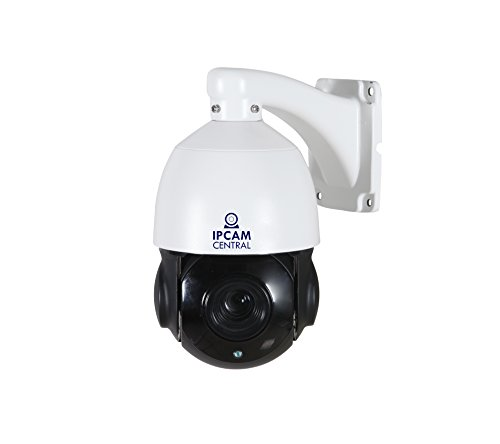 Night Ptz Internet Camera - IPCC-7210E HDPro - 4x Optical Zoom, POE, HD 2.0 Mega Pixel, Plug and Play, Outdoor Dome PTZ IP Camera, Nightvision, Audio, Blueiris Compatible