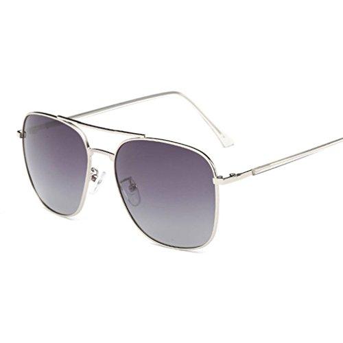 polarizadas Moda forma cuadrada Mujeres Gafas de de gafas unisex Coolsir Gafas sol 2 conducción Hombres protección de UV400 IwpnBAq