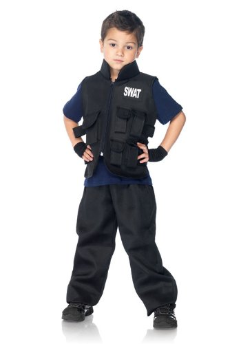 [Leg Avenue Children's SWAT Commander Costume] (Swat Vest Costume)