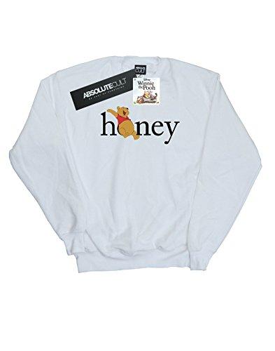 Honey Femme Disney shirt Sweat The Winnie Blanc Pooh qAqxdwzUI
