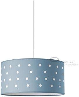 Creative Lampshades Suspensión Completa ext. de algodón Papel azúcar Tallado e INT. algodón Arena con Casquillo E27 Máx 60W: Amazon.es: Hogar