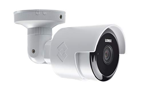 Lorex Weatherproof Indoor/Outdoor 1080P HD, WiFi Home Surveillance Security Camera with Night Vision and 2-Way Talk - Includes 64GB SD Card