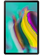 "Samsung Galaxy Tablet S5e with LTE, 2 GHz Octa Core, 4 GB, 64 GB ROM, 10.5"" Display, Android 9 Pie, Black"