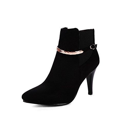 Andku01931 - Sandales Compensées Pour Femmes, Noir (noir), 35
