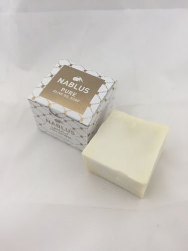 125g Soaps - Virgin Olive Oil Moisturizing Nabulsi Soap Bar from the West Bank 125g by Bethlehem Gifts TM