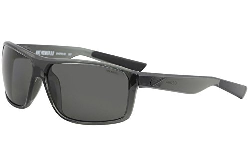 Nike Golf Premier 8.0 P Sunglasses, Mercury Grey/Matte Black Frame Polarized Grey - Sunglasses Polarized Nike