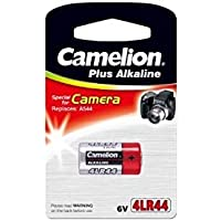 CAMELION 6V Alkaline Battery 4LR44 / 476A / PX28A / A544