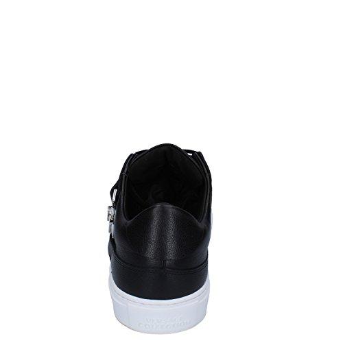 Collezione Versace Sella Marchio Partire Allinizio Herren Sneaker Schwarz Schwarz