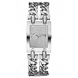 GUESS Brilliance on Links Watch - Silver and C
