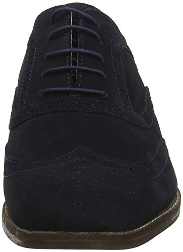 Homme Thorpe Red Peau Blue Brogues navy Tape 000 Suede vxq7Ot