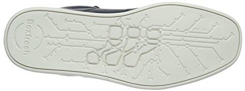 Blu Boxfresh Navy Sneaker Navy Alte ICN Prem Uomo Swich Lea wq6Fw0r