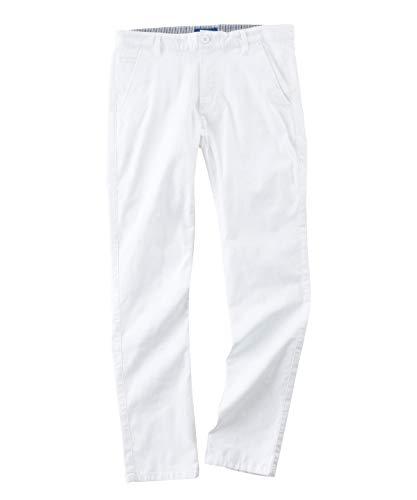 アーノルドパーマー ゴルフウェア ロングパンツ メンズ フロッキーPTスリムテーパードパンツ AP220207H01 WT 82