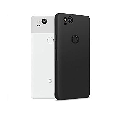 outlet store 07c10 4716f Colorcase Back Cover Case for Google Pixel 2 - (Black)