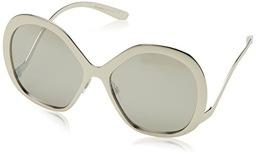 Dolce & Gabbana Women's Tropico Sunglasses, Silver/Silver, One - Dolce Mirrored Sunglasses And Gabbana