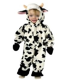 Cow Costumes Infant (Infant Cuddly Cow Costume 6-12 months)