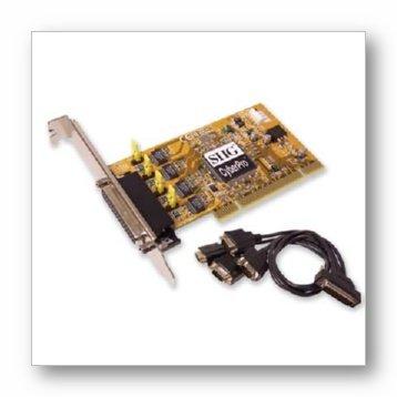 UPC 662774018737, SIIG 4Ser 16850 DB9 PCI Quartet Serial Plus I/O Irq Sharing