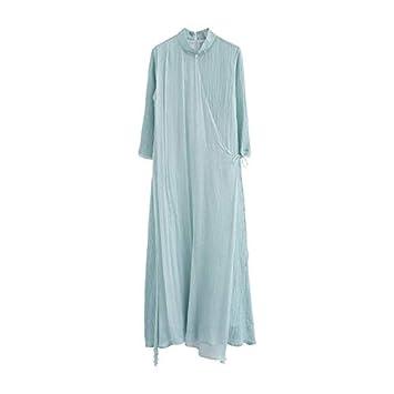 ALEIGEI China Wind Women Dress Vestido de Teatro Vintage ...