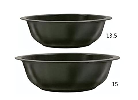Brinkmann Vertical Smoker Water & Charcoal Pan Combo 13.5 and 15 Inch (Brinkmann Smoker Pan)