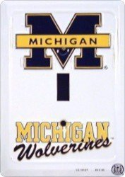 University Metal (University Of Michigan Metal Light Switch Plate by Tag City)