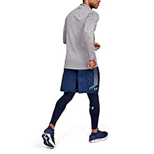 Under Armour Mens Ankle Legging 1320812, Mens, Ankle Legging, 1320812, Academy (408)/Steel, 3X-Large