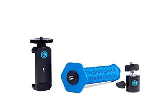 Lume Cube - Smartphone Video Mount for iPhone and Android Devices (Includes Grip, Ball Head 1/4-20, and Smartphone Clip) by LUME CUBE
