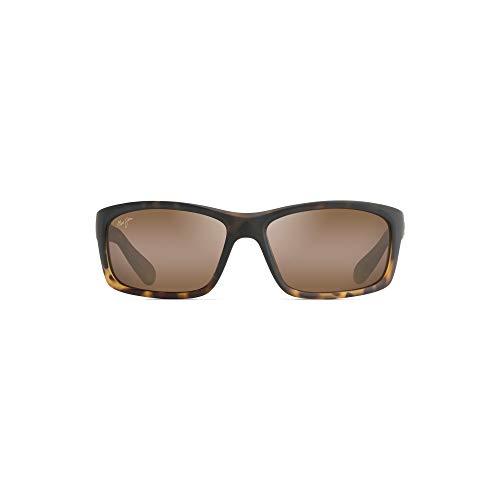 - Maui Jim  Sunglasses | Kanaio Coast  H766-10MF | Matte Tortoise Ombre Wrap Frame, Polarized HCL Bronze Lenses, with Patented PolarizedPlus2 Lens Technology