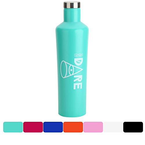 DoDo OUTDOOR Water Bottle   Stainless Steel   Vacuum Insulated Men/Women  Flask Bottle  Leak-Proof Double Walled Cola Shape   Narrow Mouth  BPA Free   Multi-Color   17oz