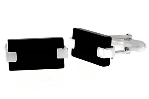Diamond Onyx Cufflinks - 2