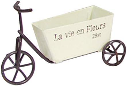 JJZS Decoración Hogar Vintage Mini-Triciclo Adorno Escultura De ...