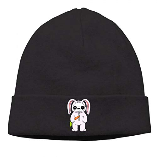 Panda in Bunny Suit Hat Unisex Casual Outdoor Knitted Hats Crochet Hip-hop Caps Hat