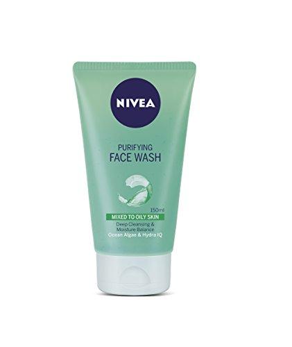 Nivea Purifying Facewash, 150 ml, 5.07 oz - India (Moisturizing Wash Face Men)