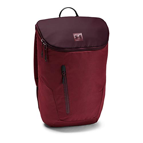 Under Armour Lifestyle Backpack, Dark Maroon (600)/Cardinal, One Size ()