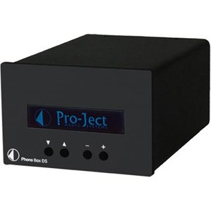 Pro-Ject Audio - Phono Box DS - MM/MC Phono Preamplifier - Black by Pro-Ject