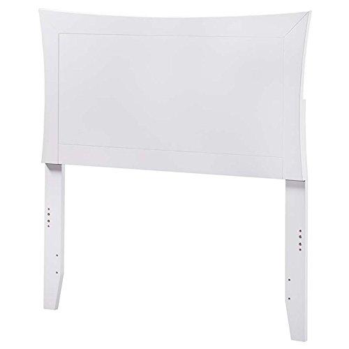 Atlantic Furniture Twin Headboard in White Finish