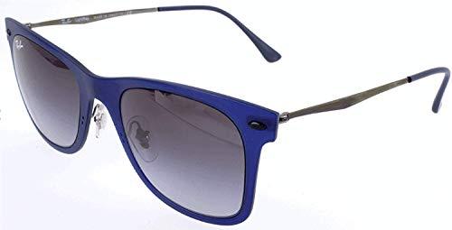Ray-Ban Wayfarer Light Ray RB4210 - 895/8G Sunglasses Blue; Gunmetal w/ Grey Gradient 50mm (Wayfarer Light Ray)