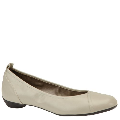 Block Soft Vitello Bone Party Ballet Flats Style Women's qAAzUE