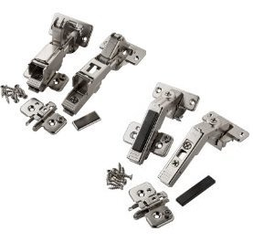 (Blum Complete Hinge Kit for Pie-corner Frameless Cabinets (Full OL))