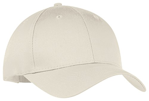 - Port & Company Unisex-adult Six-Panel Twill Cap CP80 -Oyster OSFA