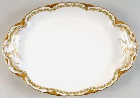 Haviland Clover Leaf Platter 11 1/2