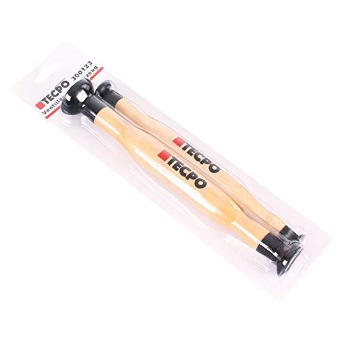 TECPO 300123 15 x 20 mm e 28 x 34 mm 2 pezzi Smerigliatrice per valvole