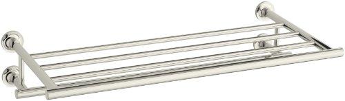 Kohler K-14381-SN Purist Towel Shelf, Vibrant Polished Nickel (Nickel Purist Towel)