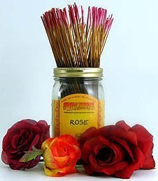 (Rose - 100 Wildberry Incense Sticks)
