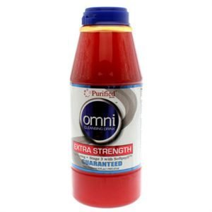 Omni Cleansing Drink Extra Strength - 5 Pack - Purified Omni Cleansing Drink 16 Fl Oz Fruit Punch Flavor with Free Im Baked Bro and Doob Tubes Sticker