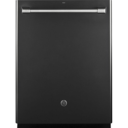 GE CDT865SMJDS Cafe 24'' Black Slate Fully Integrated Dishwasher - Energy Star by GE