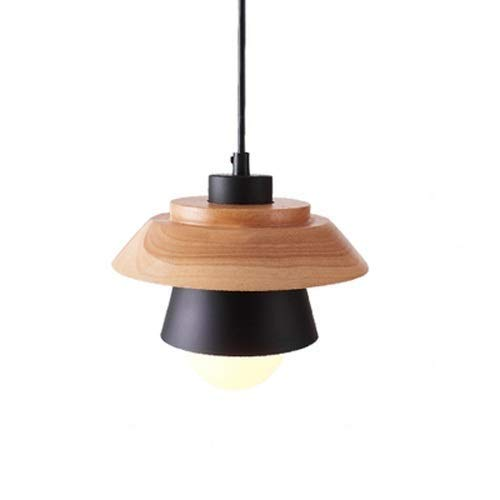 Wooden Pendant Light Fitting in US - 6