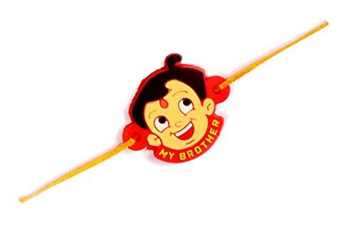 Chota Bheem Rakhi for Brother for Raksha Bandhan Handmade Silk Rakhi Fancy Rakhi