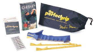 The Perfect Grip - Mark O'Meara & Hank Haney Golf Training Aid Left Handed Medium Sized Grip
