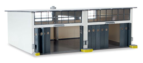 Herpa 745857 Military Building Set 2-stall repair facility 1:87 Scale for Airport Diorama