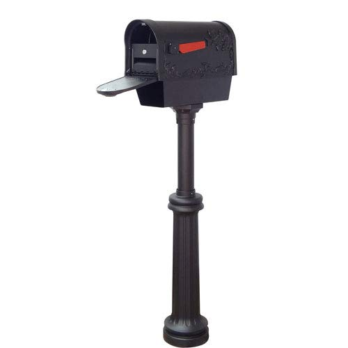 Special Lite Products Company Hummingbird Curbside Mailbox With Newspaper Tube, Locking Insert And Bradford Mailbox ()